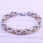 Simple Stainless Steel Cool Snake Chain Bracelet Man's 2Colors Optional