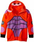 Disney Big Hero 6 Baymax Costume Zip Up Hoodie Youth Sweatshirt