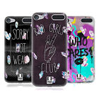 HEAD CASE DESIGNS RAD WATERCOLOUR CRYSTALS GEL CASE FOR APPLE iPOD TOUCH MP3