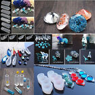 Transparent Silicone Gem Beads Pendant Moulds Mold Resin Jewellery Making Tools