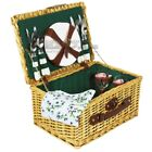 ZQ1-3756 Traditional Wicker Picnic Basket for 4 People