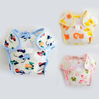 2017 New Type Newborn Baby Adjustable Nappy Washable Underwear Reusable Diapers