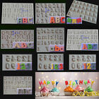 3D Number Alphabet Letter Silicone Fondant Mould Cake Decor Chocolate Sugarcraft