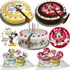 Disney Micky Maus Minnie Maus Mouse Tortendeko Kuchen Deko Muffin Party Backen