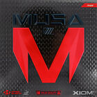 XIOM MUSA 3 Table Tennis Rubber Ping Pong MAX Red/Black