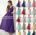 New Princess Junior Flower Girl Dresses Party Prom Bridesmaid Dresses 2-16 Years