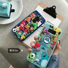 Cartoon Disney Cute Toy story Monsters Soft Back samsung galaxy Phone Case Cover