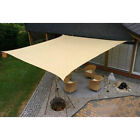 SUN SAIL SHADE - SQUARE CANOPY COVER - OUTDOOR PATIO AWNING - 10' SIDES (10x10)