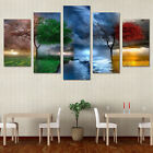 HD Printed nature  painting 5 pcs wall art Canvas Print room decor