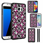 Silicone TPU Skull Case Cover for Samsung Galaxy Phone Models - DE1128