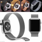 New Magnetic Clasp Metal Smart Replacement For Apple Watch iWatch & Adapter Link