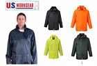Внешний вид - Portwest US440Classic Rain Jacket, Waterproof Outdoor Coat with Hood S-5XL