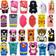 3D Cartoon Soft Silicone Back Case Cover For LG G Pro Lite D680 & G3 Stylus D690