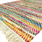 3 X 5, 4 X 6 Ft. Decorative Colorful Woven Chindi Rag Rug Bohemian Boho Indian