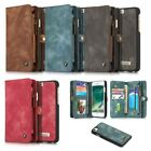 Flip Case Handy-Hülle zu Apple iPhone 7 - WALLET BOOK SPALT-LEDER Tasche Schutz