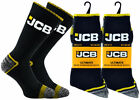 JCB Ultimate Tough and Durable Work Socks, 3, 6 or 12 Pairs, Mens UK Size 6-11