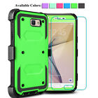 For Samsung Galaxy J7 Perx/Sky Pro Shockproof Hybrid Hard Armor Phone Case Cover