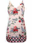 ASOS MONICA CHEMISE - SATIN - FLORAL DESIGN - VARIOUS SIZES - FREE POSTAGE - NEW