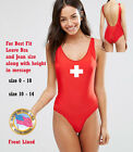 NEW ONE PIECE INSPIRED LIFEGUARD Red One Piece Lifeguard swimsuit
