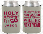 Personalized 50th Birthday Party Favors Koozies (20122) Decorations, Items