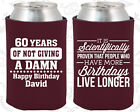 Personalized 60th Birthday Party Favors Koozies (20180) Decorations, Items