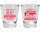 40th Birthday Party Shot Glasses Personalized Glass (20086) Buy Me A Shot