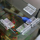 4X Aquarium Tank Glass Cover Acrylic Clip Support Holder 6/8/10/12mm Thick Glass