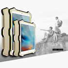 Luxury Aluminum Metal Silicone Gel Shockproof Case Cover For iPad Mini 1 2 3 Gen
