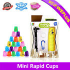 12 pcs Mini New Speed Stacks Cups With Pull Rod Sport Stacking Cups set Kids Toy