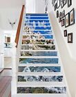 3D  Sky house water 33 Risers Decoration Photo Mural Vinyl Decal Wallpaper US