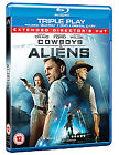 Cowboys And Aliens (Blu-ray and DVD Combo, 2011, 2-Disc Set)