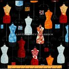"""RK """"DRESS UP 2"""" MANNEQUINS #13062-195 BRIGHT SEWING THEME (SELECT)"""