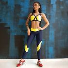 Sexy Women Yoga Fitness Sports Bra Vest +Long Pants Running Suit