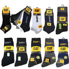 CAT SOCKEN CATERPILLAR SNEAKER ARBEITSSOCKEN REAL WORK SOCKS CATERPILLAR 39-46