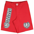Triumph United Mens Saber Fight Shorts - Red