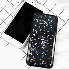 Bling Glitter Back Cover Heart Shining Powder Phone Case For iphone 6/6s 7s JR