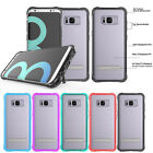 Shockproof Clear Soft Case Back Stand Cover Skin For Samsung Galaxy S8 / S8 Plus