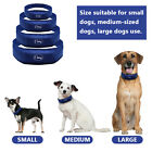 Blue Cooling Dog Collars Adjustable Cooler Pet Dog Neck Collar for Pets XS S M L