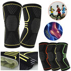 Fit Knee Recovery Compression Sleeve Support Protective Brace Unisex Pain Relief