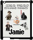 Personalised Kids Lego Star Wars Ipad 2/3/4 Case, Add any name!!