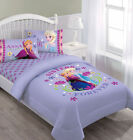 Lovely Elsa Anna Frozen Comforter sheet full 4 pcs Twin 3 pcs Bddding Set