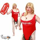 Mens Adult Lifeguard Baywatch Boobs Hairy Novelty Stag Party Fancy Dress Costume
