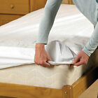 Waterproof Fitted Bed Protector - Double Bed