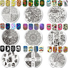 Nail Stamping Plates Nail Art Image Stainless Steel Template Decor Born Pretty