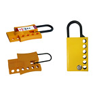 ASG BEIAN-LOCK Safety Padlock Lockout Hasps Non-Conductive Tagout Nylon Plastic