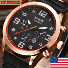 Men's Luxury Stainless Steel Date Business Quartz Military Sport Wrist Watch US