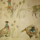 Voyage Bowmont Pheasant Designer Curtain Fabric 140 cm wide - £29.50mt