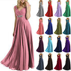 2017 Chiffon Long Bridesmaid Dresses Prom Dresses Evening Formal Ball Party Gown