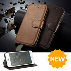 Luxury Leather Wallet Case Flip Cover Stand Credit Card Holder For iPhone 6 / 6S
