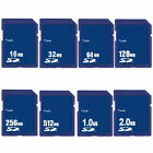 16/32/64/128/256/512MB 1GB 2GB SD Secure Digital Standard Memory Card NEW F.MP3